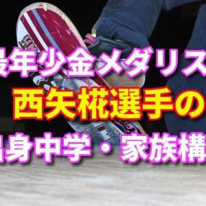 最年少13歳で金メダリストとなった西矢椛(にしやもみじ)選手!出身小学校・中学校、家族構成について
