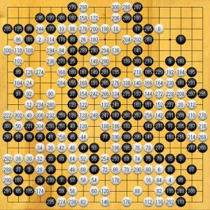 46期囲碁名人戦 第2局