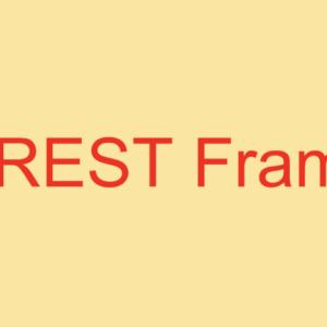 Django REST Frameworkでアプリケーション開発 ~Tag API~