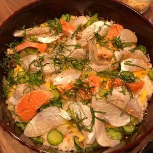 美味しくて簡単なちらし寿司、手巻き寿司レシピ