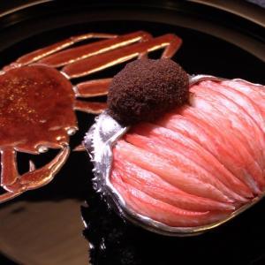 日本料理 龍吟 松葉蟹学会発表