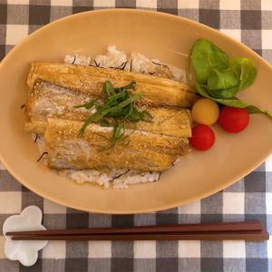 太刀魚の蒲焼き丼