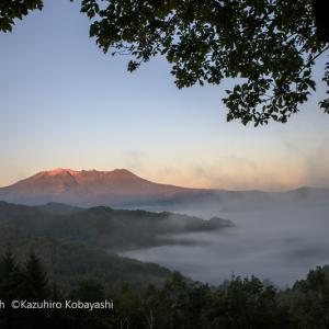 プチ雲海と御嶽
