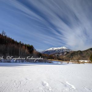 2月の御嶽山