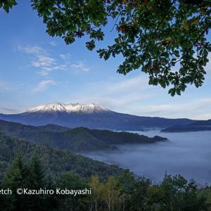 初冠雪・御嶽山