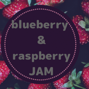 レシピ 冷凍ブルーベリー&ラズベリー ジャム ホームメイド
