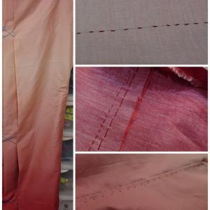 女の子の袴づくり05 裾と脇を縫う 入学式 入学準備 小学校