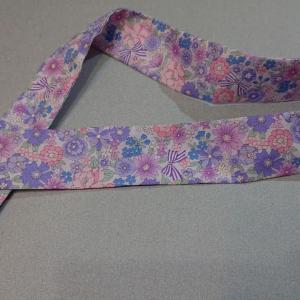 女の子の袴作り13 衿はいろいろ 今回は伊達襟(重ね衿)を作る だてえり・かさねえり  コスモルヴァン フルール