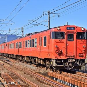 Feb.23,2020 キハ40系気動車(回送列車)