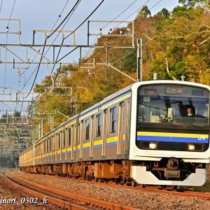 Nov.13,2019 209系電車 2000・2100番代➀
