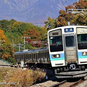 Nov.16,2019 211系電車(長野色)