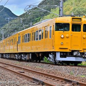 Sept.2,2020 113系(岡オカ B-8編成)