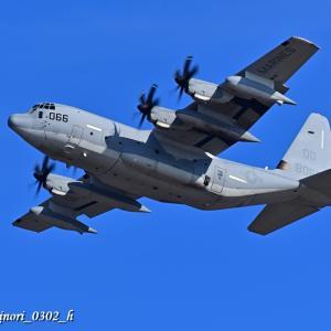 """Sept.1,2020 空中給油機「KC-130J """"QD-066"""" 〔VMGR-152〕」"""
