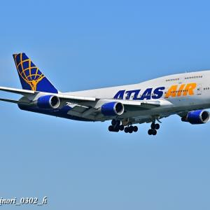 Sept.21,2020 アトラス航空「B747-400(N465MC)」Part.1
