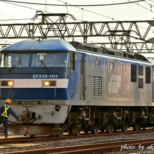 Oct.18,2020 EF210-101号機(ECO-POWER 桃太郎)