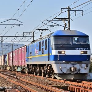 Jan.16,2021 EF210-317号機(ECO-POWER 桃太郎)