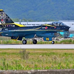 Jun.25,2021 創隊60周年特別塗装機「F-2A(13-8558)」(第8航空団第8飛行隊)