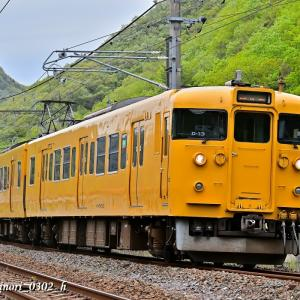 Apr.12,2021 115系電車(岡オカ D-13編成)