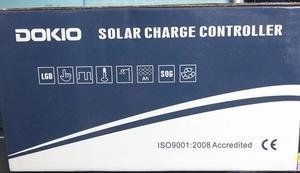 DOKIO 100w ソーラーパネル チャージコントローラー マニュアル 英語を訳して読む。 2019年10月?日