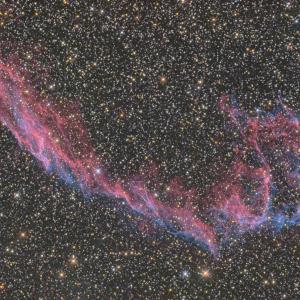 網状星雲東側-NGC6992