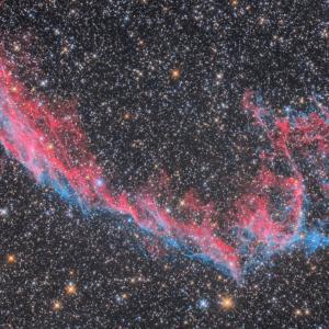 網状星雲NGC6995