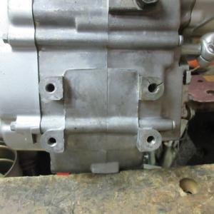 ゼン号KLX110《割れエンジン・溶接》