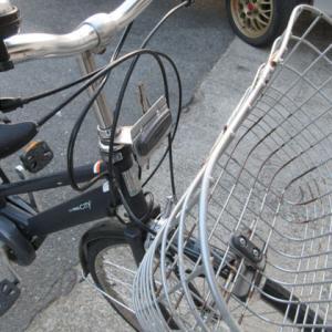 自転車カゴ交換