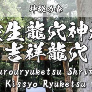 【神秘の森】室生龍穴神社~吉祥龍穴