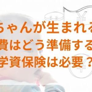 【学費編】赤ちゃんが生まれる!保険は必要?具体的に検討してみた(学資保険)