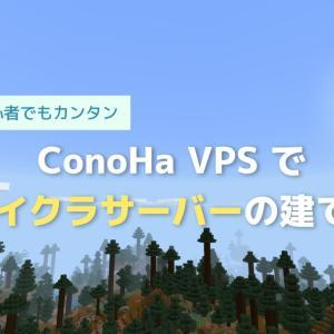 【徹底解説】ConoHaでマイクラサーバーをめっちゃ簡単に建てる方法(BE·統合版)