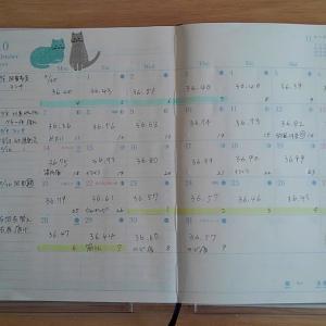 日の長さを感じる手帳 Monthly 10月