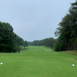 雨ゴルフしてきました