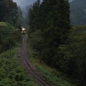 小雨の朝      (飯山線)