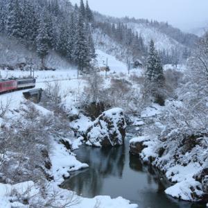 大白川   2020冬   (只見線)
