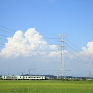 入道雲 2020.09      (八高線)
