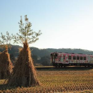 火祭り      (会津鉄道)