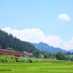 中川集落      (只見線)