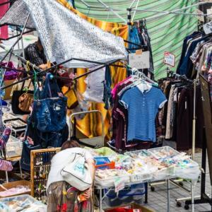 フリーマーケット(フリマ)で必要なものは?売れる時期はあるの?出店方法?関西。兵庫。大阪。神戸。