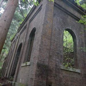 姉川ダムと某施設跡