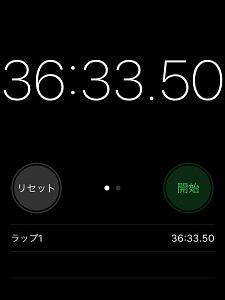 走った(先週)。