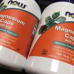マグネシウムのサプリメント届いたぞ!