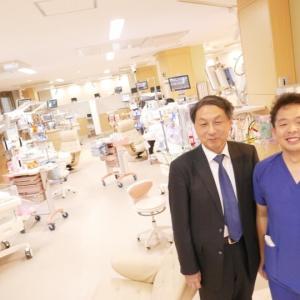 名古屋大学の早川教授のNICU訪問に感謝。。。