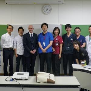 Mintzer JP先生の神奈川こどもNICU訪問とINVOS特別勉強会