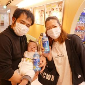 緊急事態宣言の中のこども医療センター,マスクも手指消毒液の寄付に感謝。。。