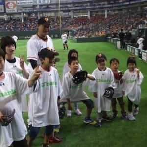 村田修一さん招待のNICU野球親睦会に参加していたご家族達の今を讃えたい。。。