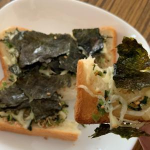 最近はまっている簡単朝ご飯の作り方 カルディで買ったおやつと作る予定じゃなかったエビフライを夕食に