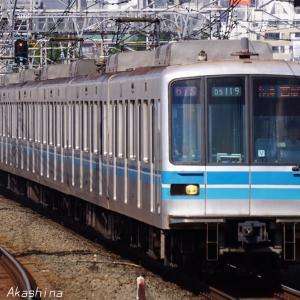 西荻窪で東京メトロ東西線車両を撮る