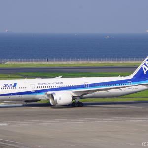 〔今日の交通〕ANA Boeing 787-9 JA833A