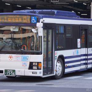 〔今日の交通〕熊本電鉄 エルガ(元京成バス)[C3-3] 蓮台寺入口 - 菊池温泉・市民広場前