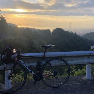 Road bike : Morninig hill climb at Mt.Hiei (Yamanaka-goe)
